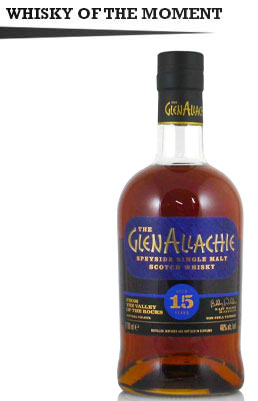 GlenAllachie 15 Year Old, Whisky of the Moment